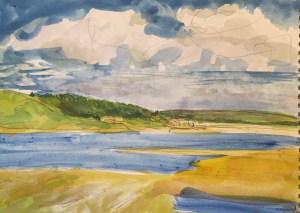 Rock,Cornwall,Watercolour,22x 15cm