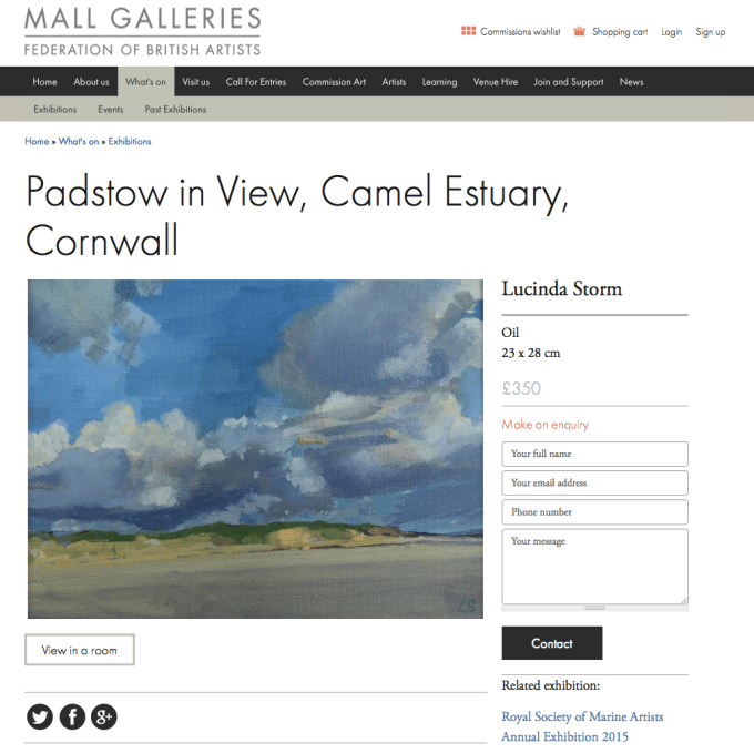 Mall Galleries.
