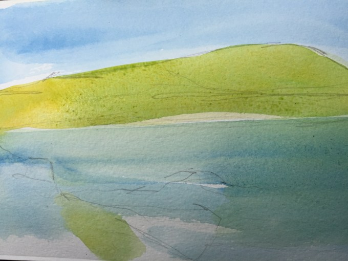 Colour Study, Cornwall