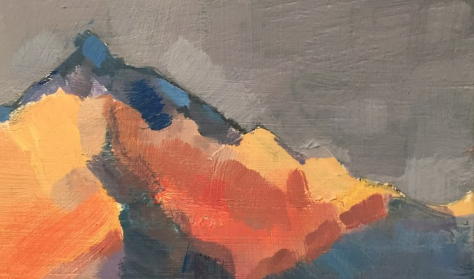 Mountain Colour Study
