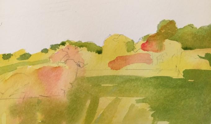 Cattle on hill II