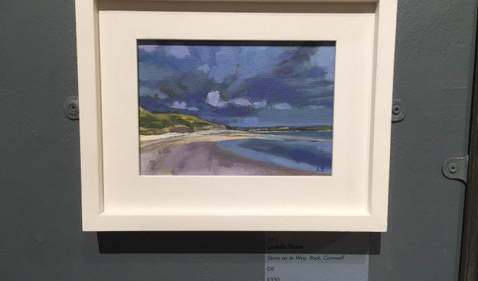 Storm on it's Way, Rock, Cornwall, Mall Galleries.