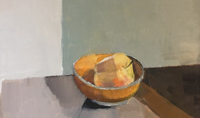 """""""Still Life II"""", preselected for Royal Institute of Oil Painters Annual Open Exhibition, 2017, Mall Galleries."""