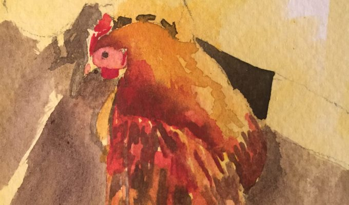 Winter Hen II