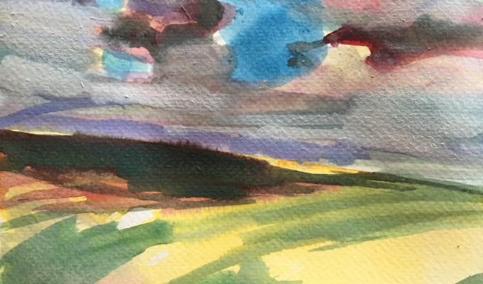 Cornish Clouds IV