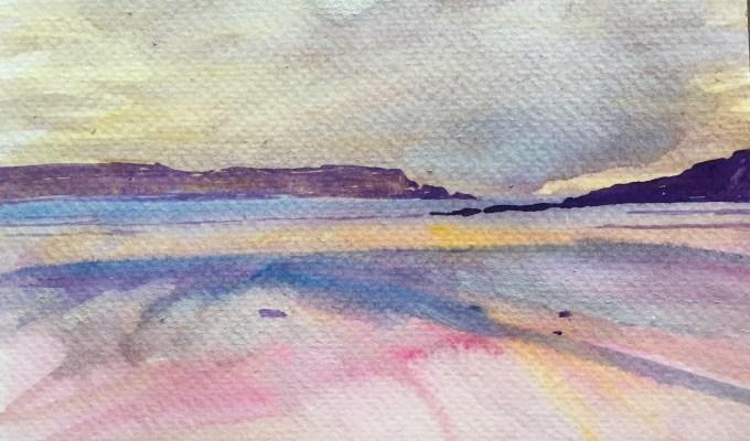 Wet Sand, Good Friday, Daymer Bay