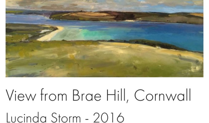 View from Brae Hill, Daymer Bay, Cornwall