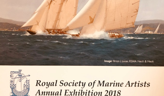 Royal Society of Marine Artists Annual Open Exhibition 2018