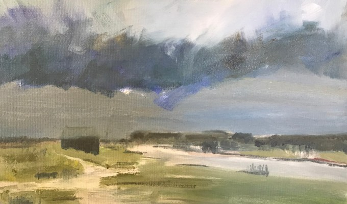 Walberswick, oil on canvas