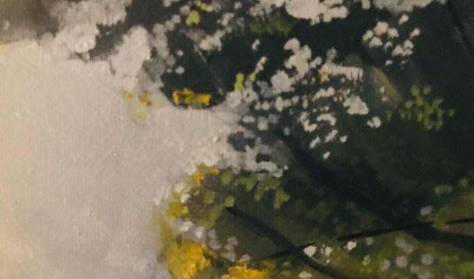 Summer Foliage,  Oil sketch
