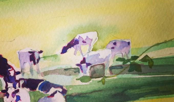 Glimpsing Cows