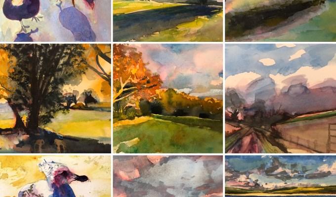 Lockdown Sale of Paintings in Aid of The Royal Marsden Hospital.