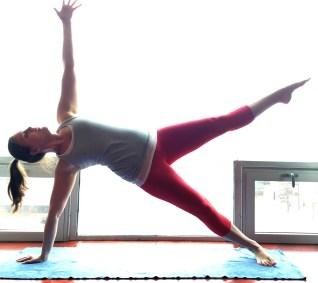 If you side plank on your right, you have to side plank on your left.