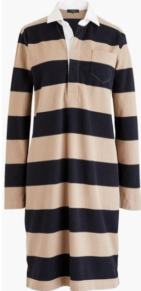 rugby shirtdress