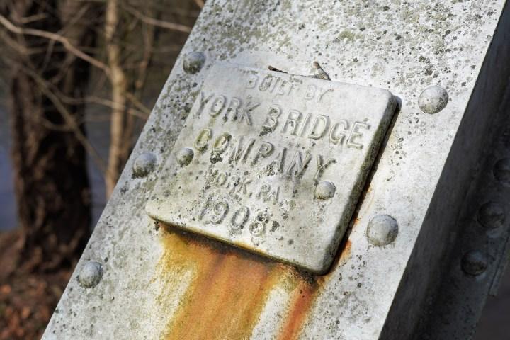 Historic Bridges of the MidAtlantic: Bullfrog Road Bridge