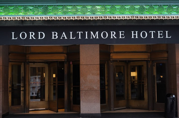Pack a Bag: Lord Baltimore Hotel, Part I