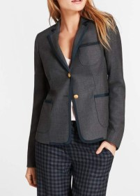 Brooks Brothers tipped rowing blazer