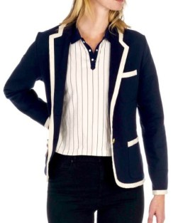 Rowing Blazer navy tipped blazer