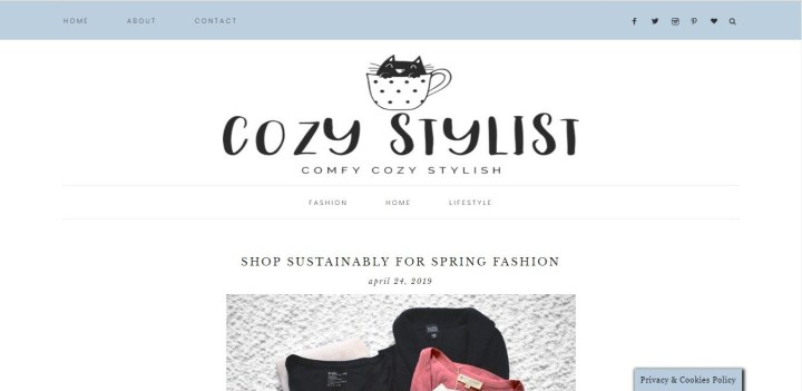 Sartorial Sustainability Sunday: Lindsey Kyle, @CozyStylist