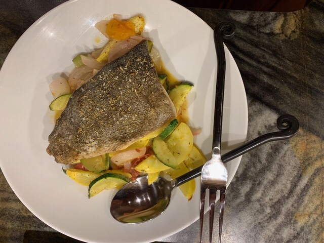Baked Trout with Herbs de Provence Summer Vegetables // @2souschefs