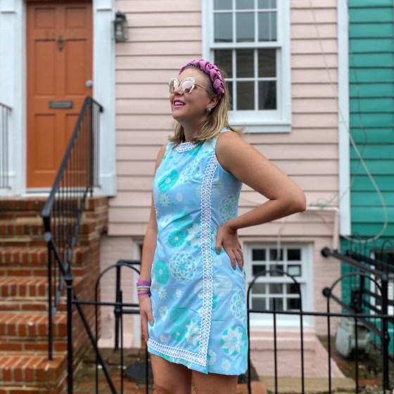 Vintage Lilly Pulitzer shift dress