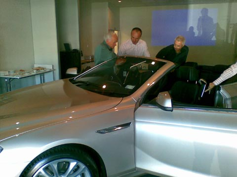 BMW 650i Cabriolet launch