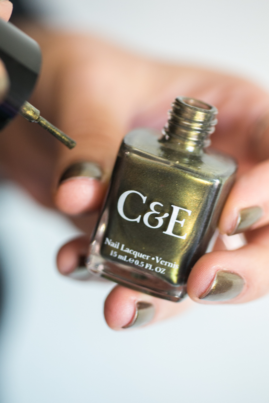 Crabtree & Evelyn Nail Polish Review for Fall Metallic Polishes