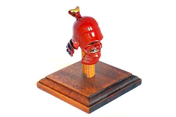 "016 Samurai Helmet Choker ""HINENO"""