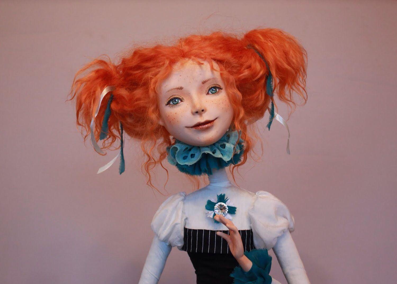 куклы из полимерной глины мастер класс фото гордость