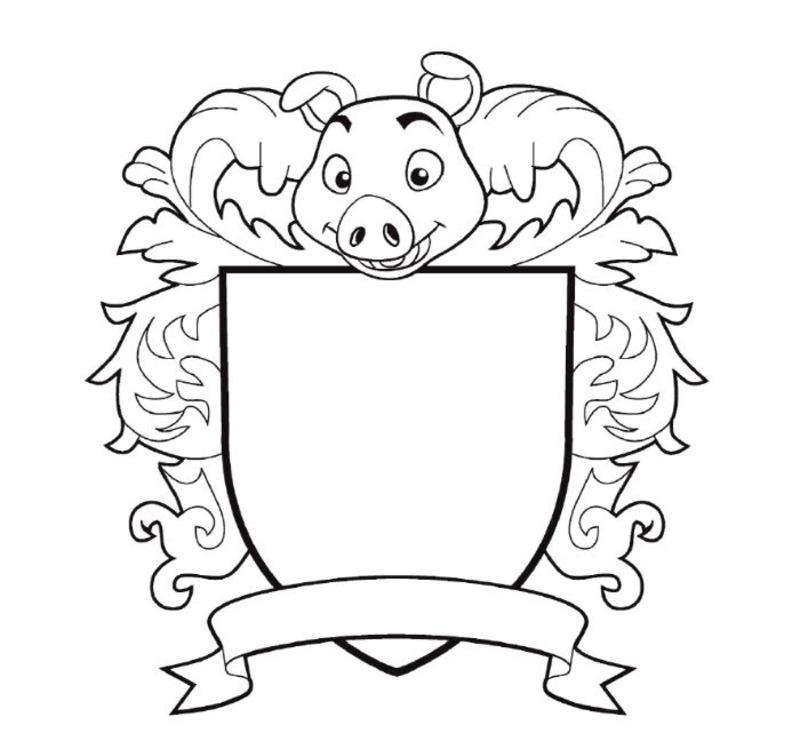 картинки для герба семьи шаблоны этот раз