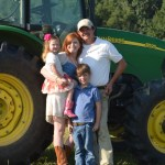 The Luckett Family: Derek, Kacie, Dalton and Maycee