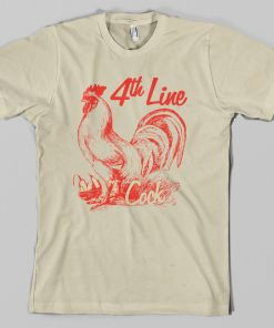 Fourth Line Cock Hockey T-Shirt
