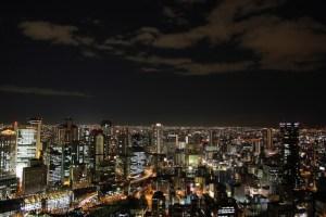 誕生日は大阪で夜景が綺麗に見えるレストランでディナーしよう