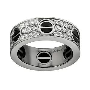 カルティエ/Cartier / リング 指輪 ラブリング パヴェダイヤ