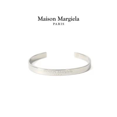 Maison Margiela(メゾンマルジェラ) シルバーロゴ バングル SM1UY0023 S12698
