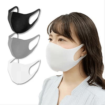 ひんやり涼感夏マスク 3D立体構造マスク