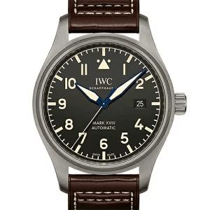 IWCパイロットウォッチ IW327006 マーク18 ヘリテージ ブラウンレザー