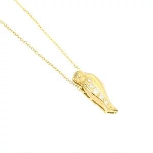 ティファニー TIFFANY&Co. ダイヤ ネックレス 47cm 18金イエローゴールド 750 鳥モチーフ 90110148