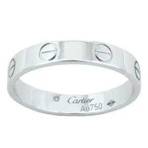 カルティエ/Cartier ウェディング 結婚指輪 ラブリング LOVE Pt950