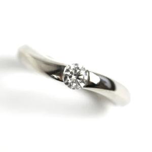 ヴァンドーム青山 Pt950 プラチナ ダイヤモンドリング