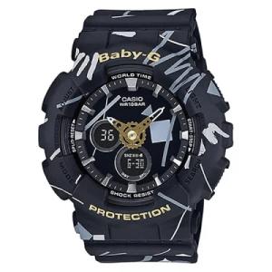 BABY-G 海外モデル ジオメトリックデザイン BA-120SC-1A