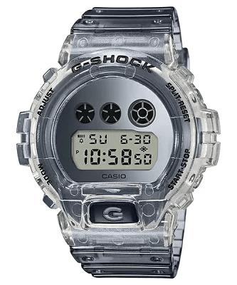 カシオ G-SHOCK Gショック 限定モデル クリアスケルトン 逆輸入海外モデル DW-6900SK-1DR