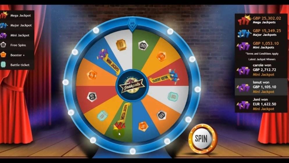 VideoSlots Jackpot Wheel