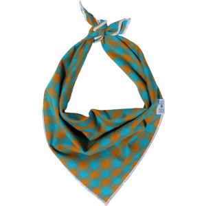 CHECKERED DOG BANDANA