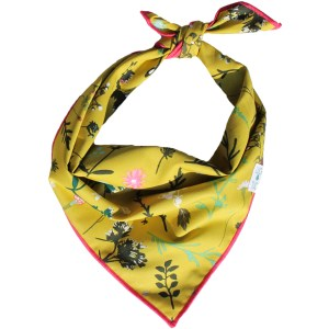 luck of tuck woodsie floral dog bandana
