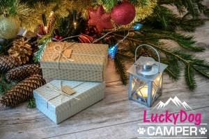 Weihnachtsgrüße Lucky Dog Camper
