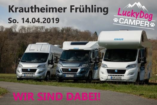 Lucky Dog Camper - Krautheimer Frühling 2019