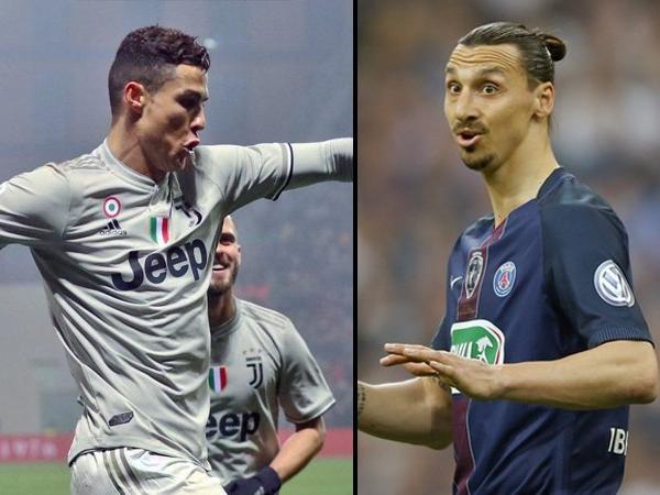 Zlatan Ibrahimovic : Cristiano Ronaldo Ke Juventus Bukan Sebuah Tantangan