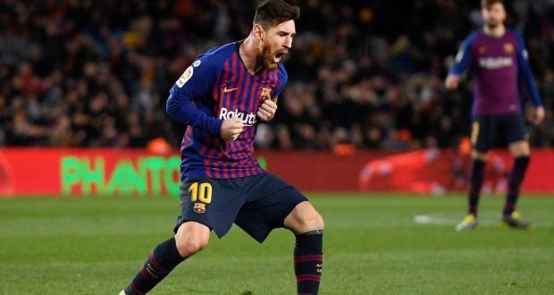 Dua Gol Lionel Messi Berhasil Tahan Imbang Valencia