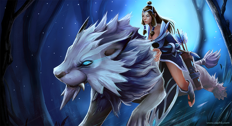 Review Hero Mirana Dalam Game Dota 2